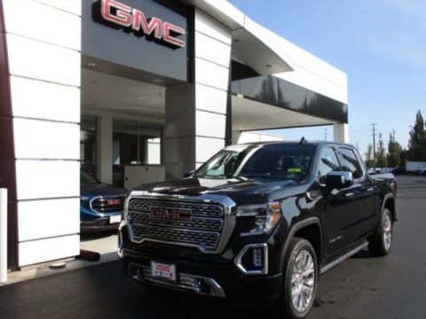 Onyx Black 2020 GMC Sierra 1500 Denali Crew Cab 4WD