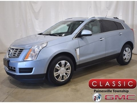 Glacier Blue Metallic 2014 Cadillac SRX Luxury