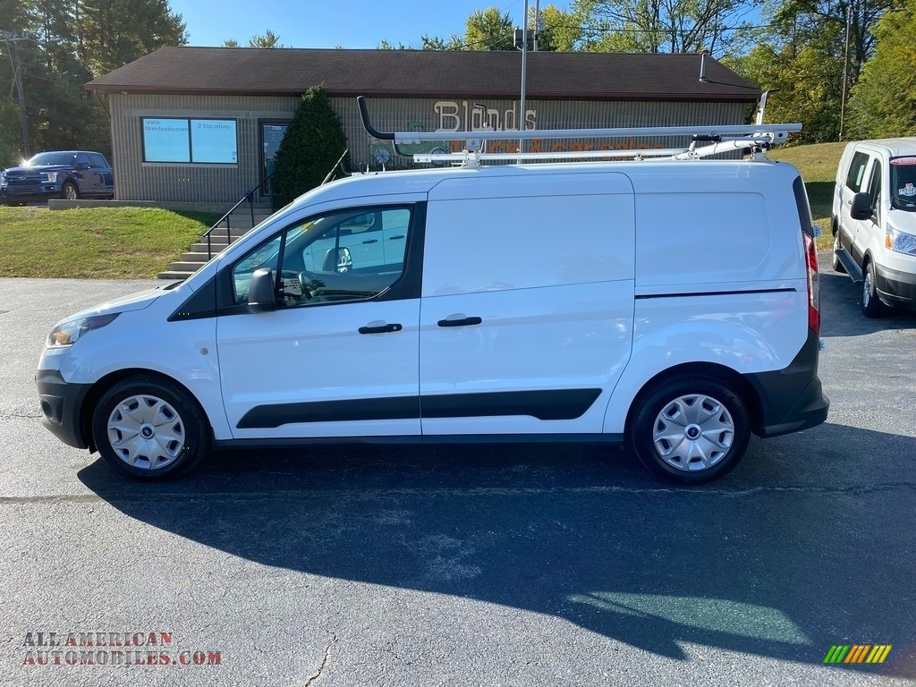 2017 Transit Connect XL Van - Frozen White / Charcoal Black photo #1