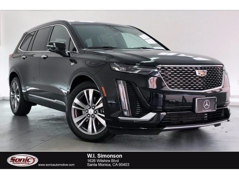 Stellar Black Metallic 2020 Cadillac XT6 Premium Luxury