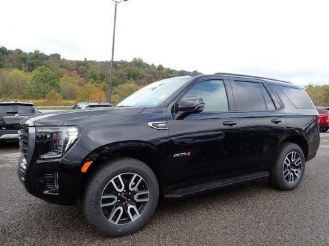 Onyx Black 2021 GMC Yukon AT4 4WD