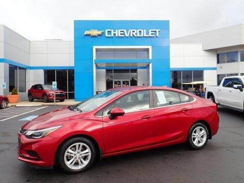 Cajun Red Tintcoat 2017 Chevrolet Cruze LT