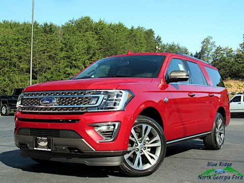 Rapid Red 2020 Ford Expedition King Ranch Max 4x4