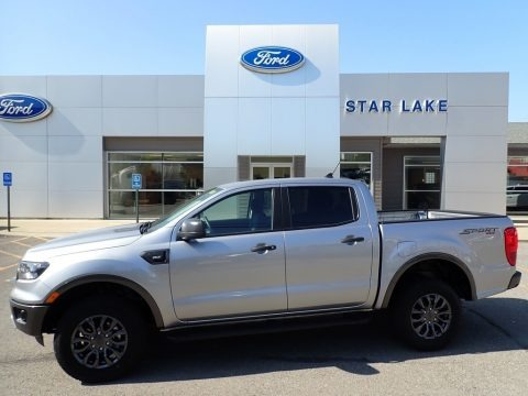 Iconic Silver 2020 Ford Ranger XLT SuperCrew 4x4