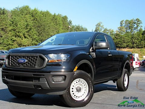 Shadow Black 2020 Ford Ranger XL SuperCab 4x4
