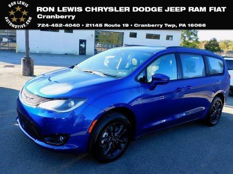 Ocean Blue Metallic 2020 Chrysler Pacifica Launch Edition AWD