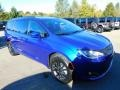 Chrysler Pacifica Launch Edition AWD Ocean Blue Metallic photo #3