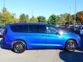 Chrysler Pacifica Launch Edition AWD Ocean Blue Metallic photo #4