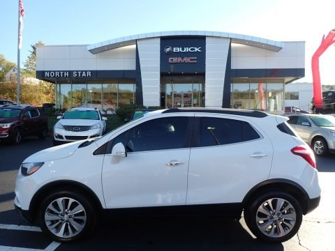Summit White 2017 Buick Encore Preferred AWD