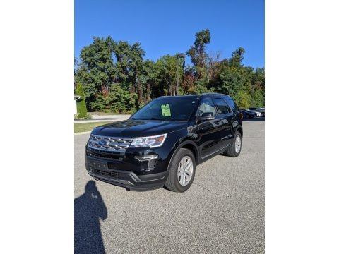 Shadow Black 2018 Ford Explorer XLT 4WD
