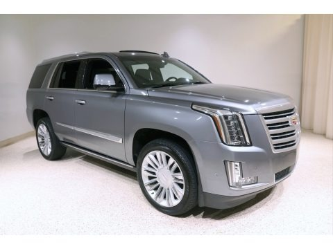 Satin Steel Metallic 2018 Cadillac Escalade Platinum 4WD