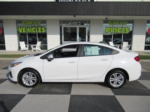 Summit White 2019 Chevrolet Cruze LS