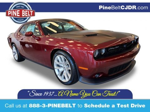 Octane Red 2020 Dodge Challenger R/T Scat Pack 50th Anniversary Edition