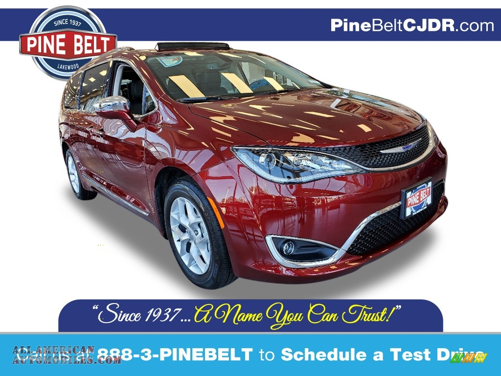 2020 Pacifica Limited - Velvet Red Pearl / Alloy/Black photo #1