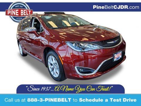 Velvet Red Pearl 2020 Chrysler Pacifica Limited
