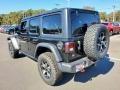 Jeep Wrangler Unlimited Rubicon 4x4 Black photo #6