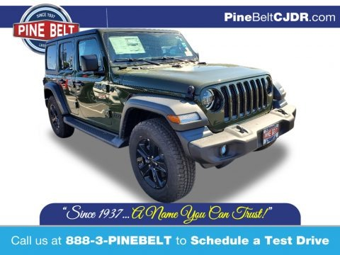 Sarge Green 2021 Jeep Wrangler Unlimited Sport 4x4