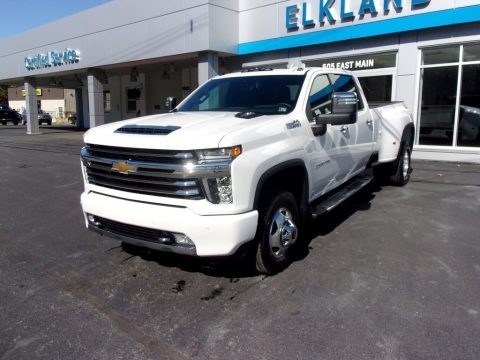 Iridescent Pearl Tricoat 2020 Chevrolet Silverado 3500HD High Country Crew Cab 4x4