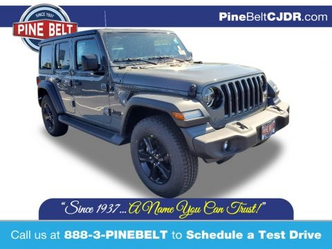 Sting-Gray 2021 Jeep Wrangler Unlimited Sport 4x4