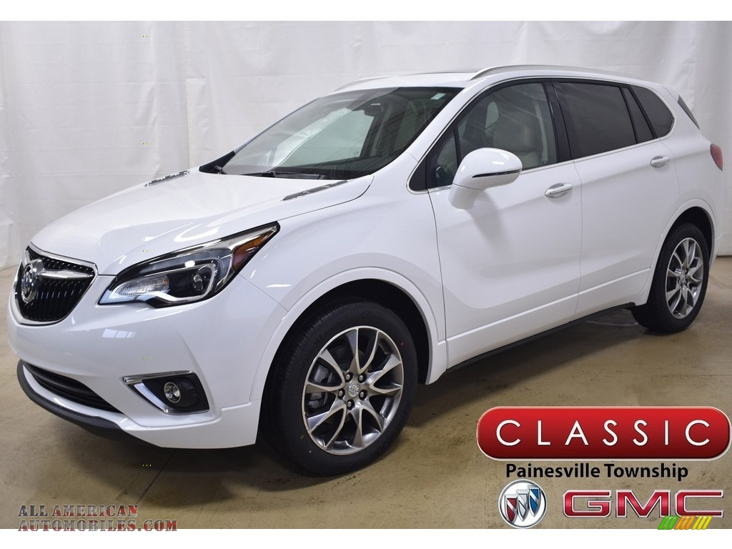 2020 Envision Essence AWD - Summit White / Light Neutral photo #1
