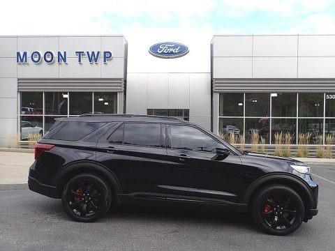 Agate Black Metallic 2020 Ford Explorer ST 4WD
