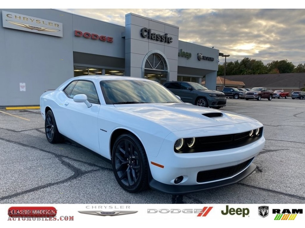 2020 Challenger R/T - White Knuckle / Black photo #1