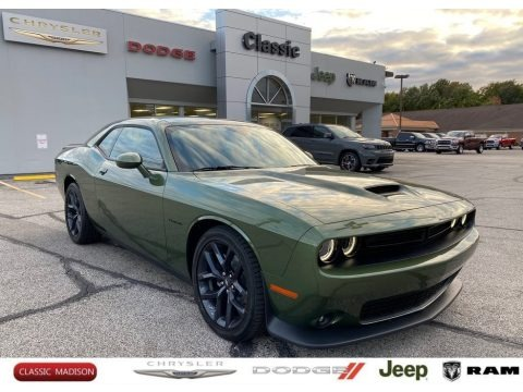 F8 Green 2020 Dodge Challenger R/T