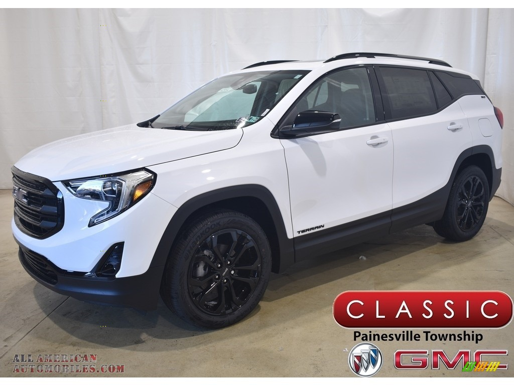 2020 Terrain SLT AWD - Summit White / Jet Black photo #1