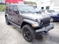 Jeep Wrangler Unlimited Sport 4x4 Granite Crystal Metallic photo #8