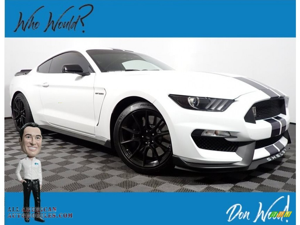 2020 Mustang Shelby GT350 - Oxford White / GT350 Recaro/Ebony w/Miko Suede Inserts photo #1