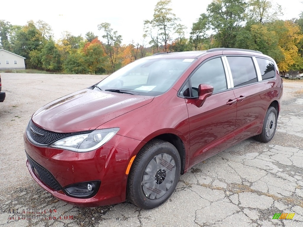 2020 Pacifica Launch Edition AWD - Velvet Red Pearl / Black photo #1