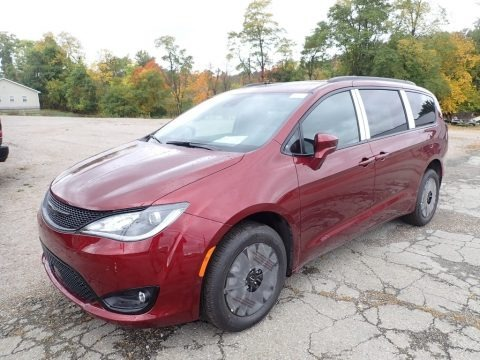 Velvet Red Pearl 2020 Chrysler Pacifica Launch Edition AWD