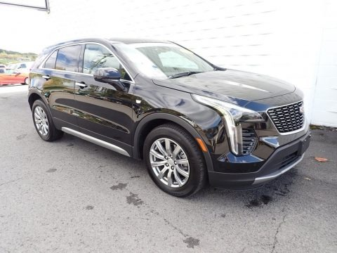Stellar Black Metallic 2020 Cadillac XT4 Premium Luxury