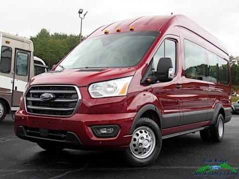 Kapoor Red 2020 Ford Transit Passenger Wagon XLT 350 HR Extended