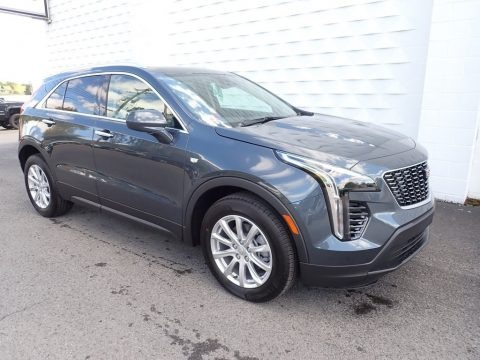Shadow Metallic 2021 Cadillac XT4 Luxury AWD