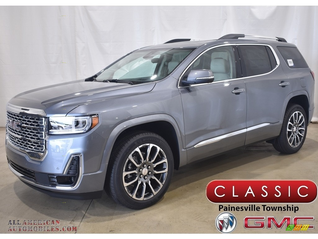2021 Acadia Denali AWD - Satin Steel Metallic / Dark Galvanized/Light Shale photo #1
