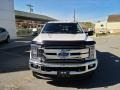 Ford F350 Super Duty Lariat Crew Cab 4x4 White Platinum photo #5