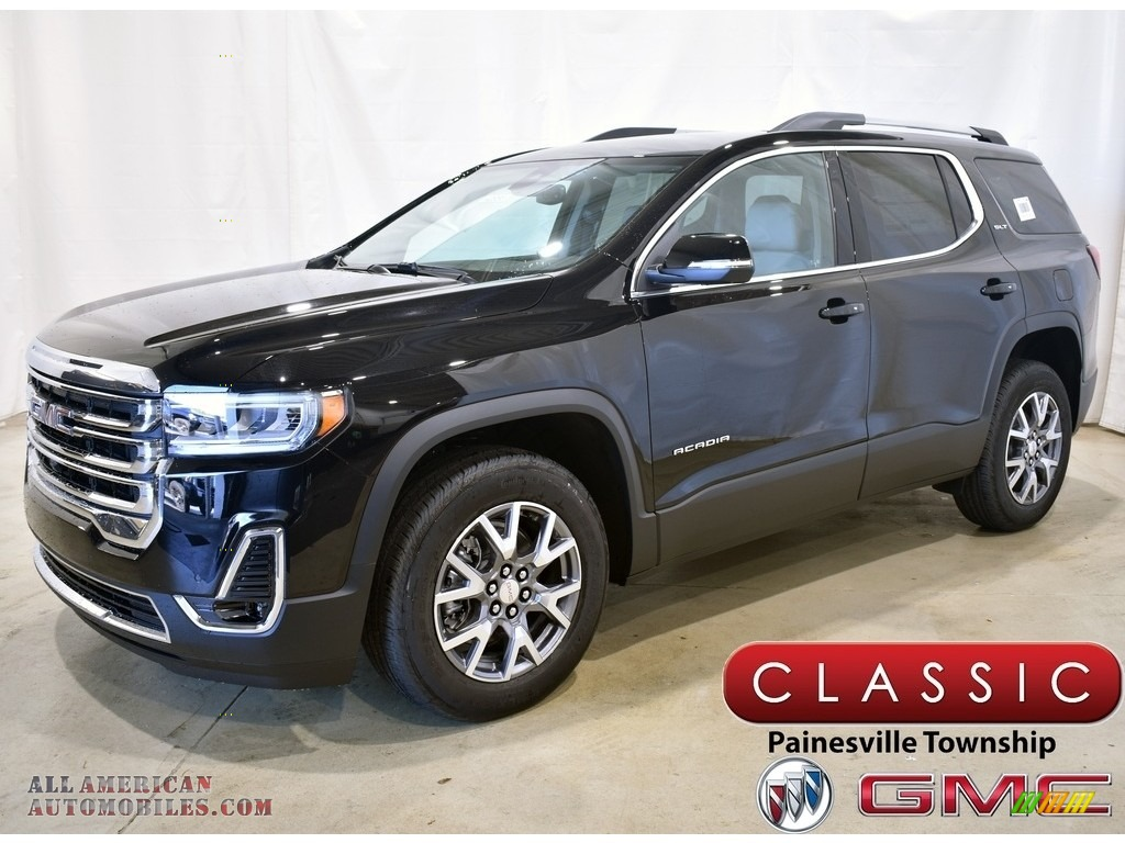2021 Acadia SLT AWD - Ebony Twilight Metallic / Cocoa/Light Ash Gray photo #1