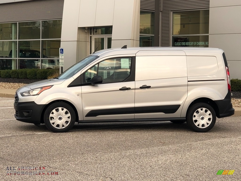 Silver Metallic / Ebony Ford Transit Connect XL Van