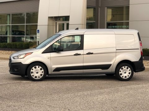 Silver Metallic 2021 Ford Transit Connect XL Van