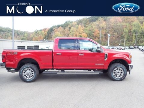Rapid Red Metallic 2020 Ford F350 Super Duty XLT Crew Cab 4x4