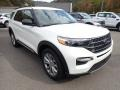 Ford Explorer XLT 4WD Star White Metallic Tri-Coat photo #3