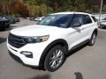 Ford Explorer XLT 4WD Star White Metallic Tri-Coat photo #5