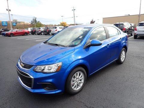 Kinetic Blue Metallic 2020 Chevrolet Sonic LT Sedan