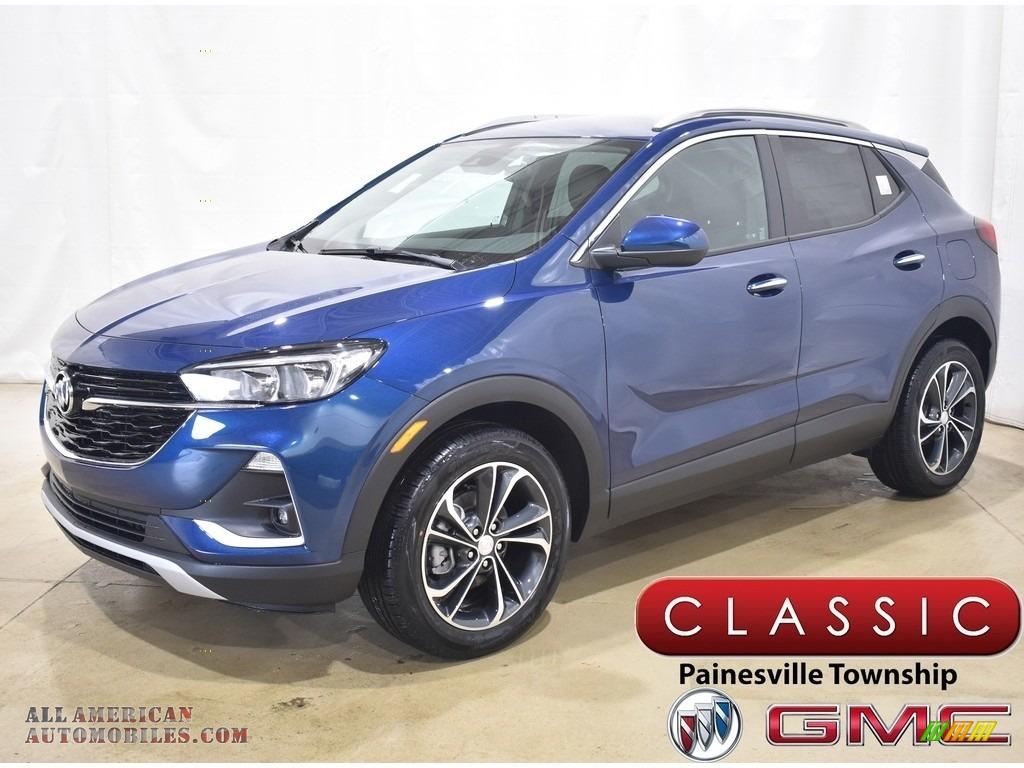 2021 Encore GX Select AWD - Deep Azure Metallic / Ebony photo #1