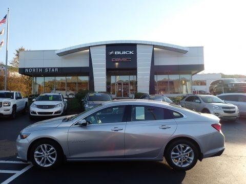 Silver Ice Metallic 2017 Chevrolet Malibu LT