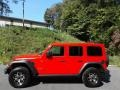 Jeep Wrangler Unlimited Rubicon 4x4 Firecracker Red photo #1