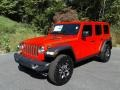 Jeep Wrangler Unlimited Rubicon 4x4 Firecracker Red photo #2
