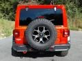 Jeep Wrangler Unlimited Rubicon 4x4 Firecracker Red photo #7