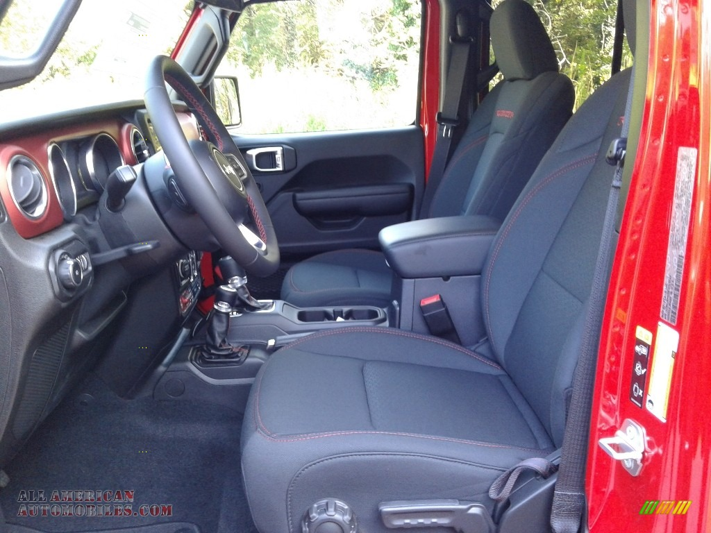 2021 Wrangler Unlimited Rubicon 4x4 - Firecracker Red / Black photo #10